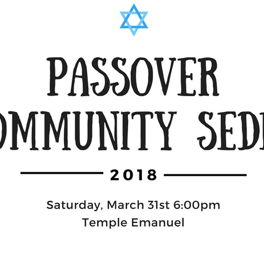 Second Night Community Seder