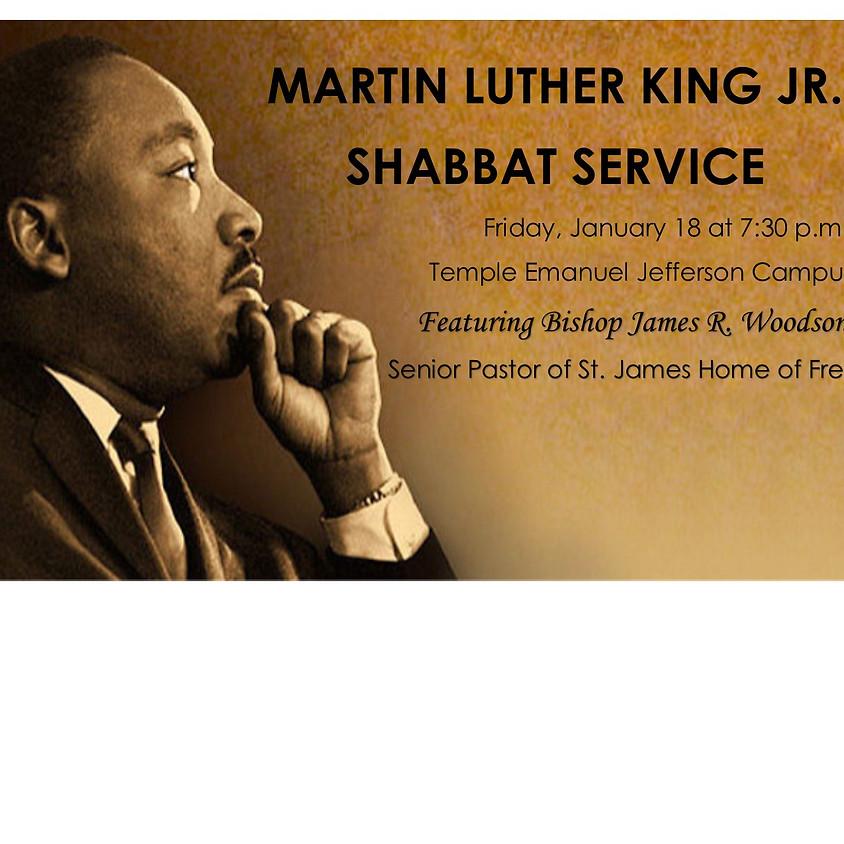 MLK Shabbat Service