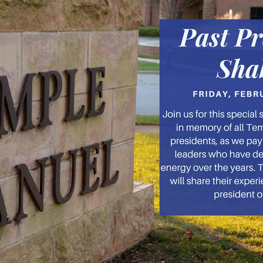 Past Presidents Shabbat