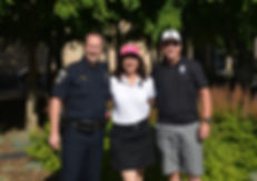 Redmond Police Foundation, Jeff Wallis, Sharon Brocker, Lt. Tim Gately