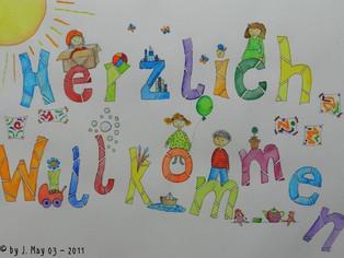 Herzlich Willkommen im neuen Kindergartenjahr