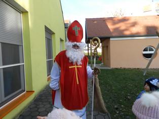 Besuch vom Hl. Nikolaus