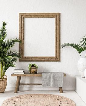 bigstock-Old-Wooden-Frame-Mock-up-In-In-