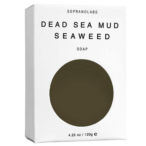 Dead Sea Mud Seaweed Vegan Soap