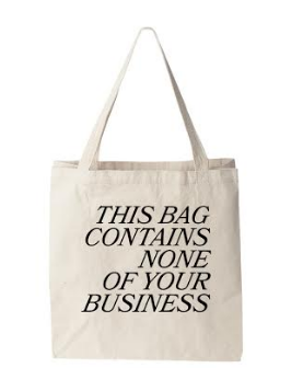 No Business Tote
