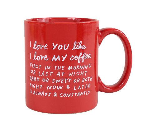 I Love You Like... - Adam J. Kurtz