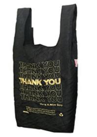Thank You Thank You - Black & Gold