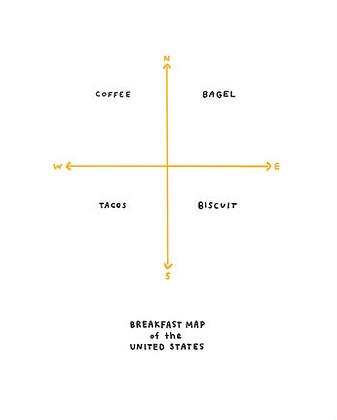 Breakfast Map - Michelle Rial