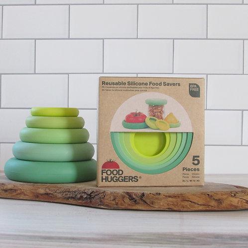 Sage Green Food Huggers - Set of 5