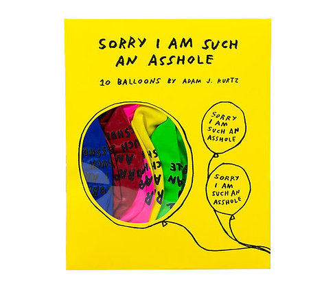 Sorry Ballons - Adam J. Kurtz