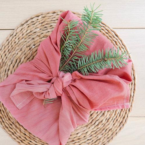 """Reusable Furoshiki Gift Wrap ( 19"""" x 19"""" )"""