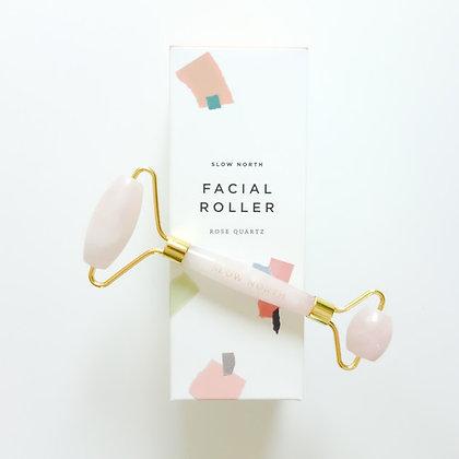 Facial Roller - Rose Quartz - Slow North