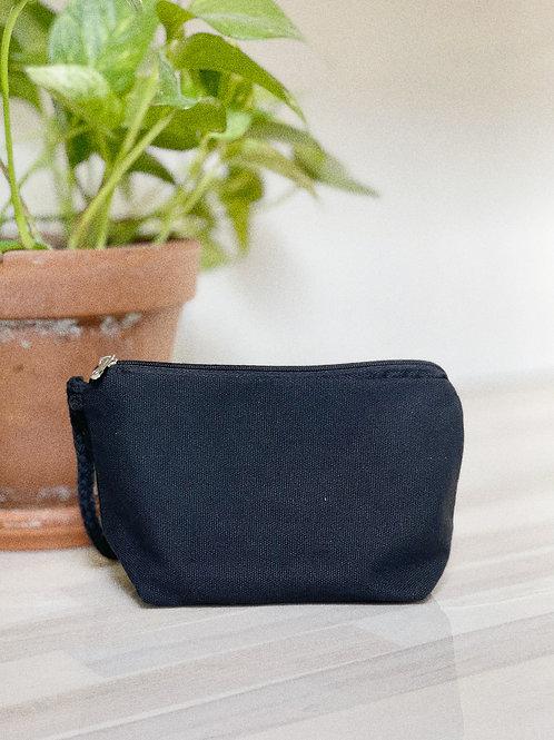 Travel Canvas Bag - Black