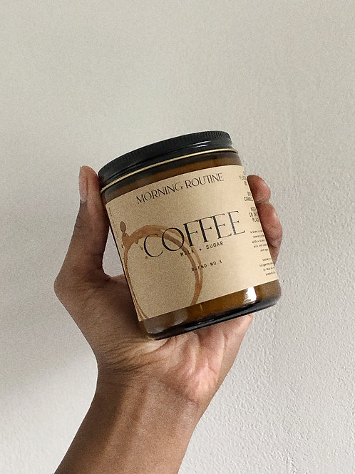 Morning Routine Coffee Candle