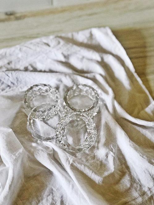 Crystal Dinner Rings