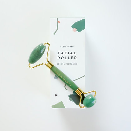 Facial Roller - Green Aventurine - Slow North