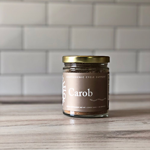 Carob Adaptogenic Cycle Blend for Tonics Smoothies Lattes