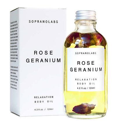 Rose Geranium Relaxation Body Oil