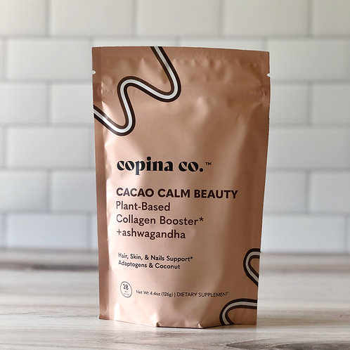 Copina Co. Cacao Calm Beauty - Plant-Based Collagen Booster + ashwagandha