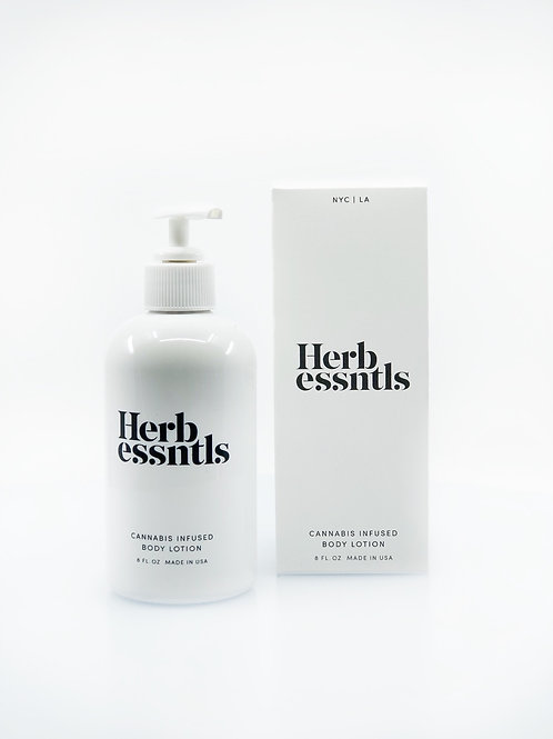Herbessntls Cannabis Infused Body Lotion