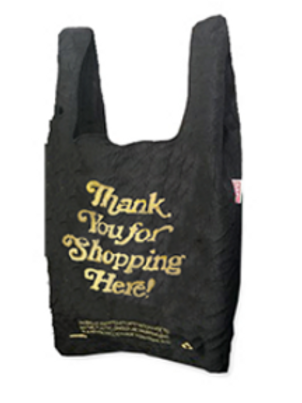 Thank You for Shopping - Black & Gold