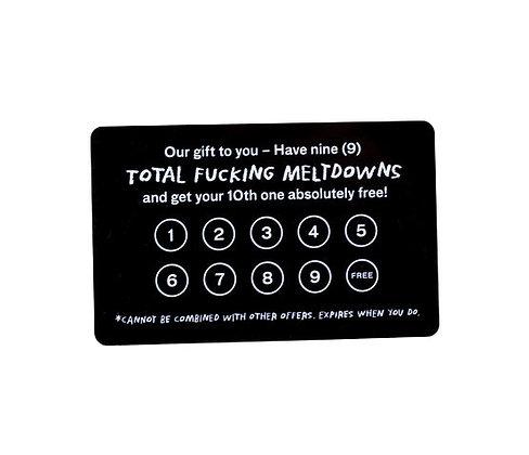 Frequent Meltdown Card - Adam J. Kurtz
