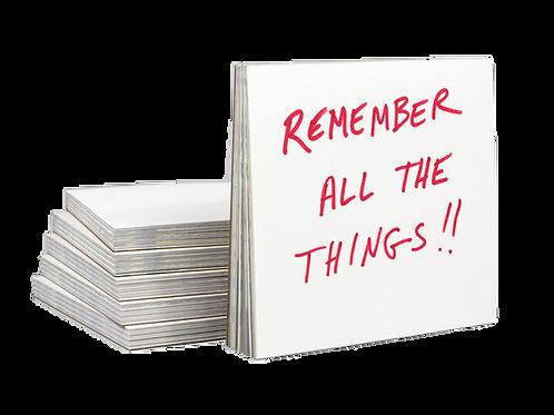Reused, Recycled Scrap Notepad - Nikki McClure