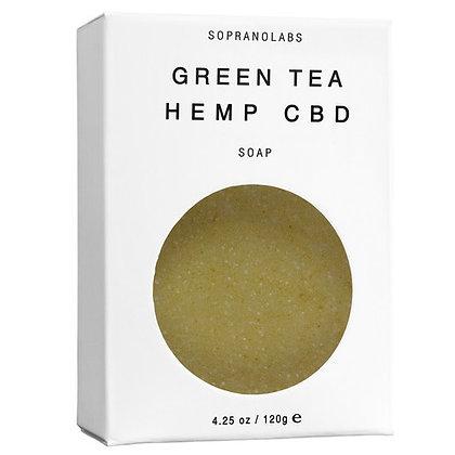 Green Tea Hemp CBD Bar Soap