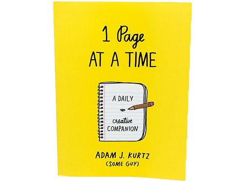 1 Page At A Time - Adam J. Kurtz