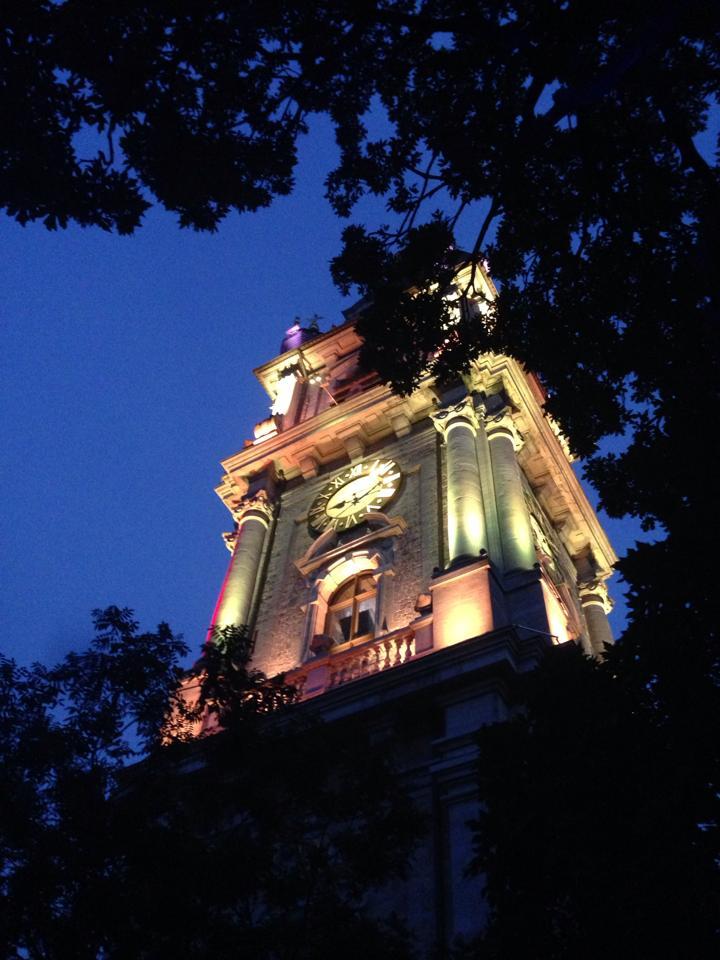 Beffroi de Mons by night