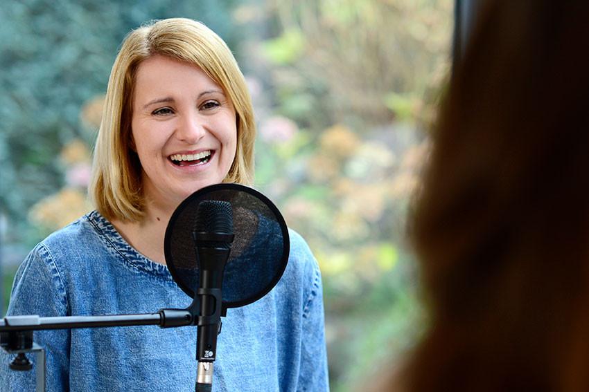 Kinderbibelpodcast – Spaß im Tonstudio.