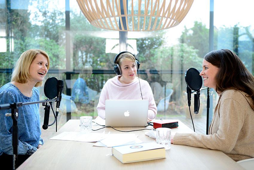 Kinderbibelpodcast – Aufnahme läuft.