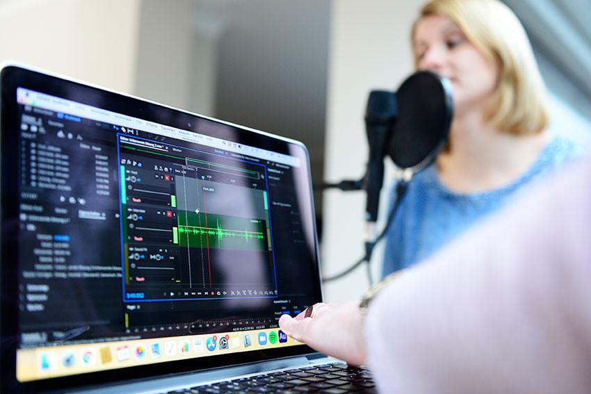 Kinderbibelpodcast – Aufnahme läuft weiter.