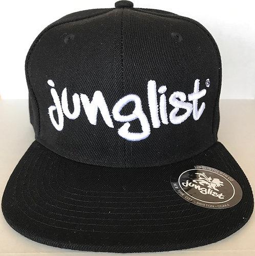 Black Junglist Fitted