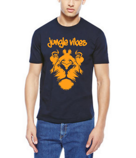 Men's Lion Face Tee