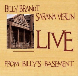 Live at Billys Basement CD cover