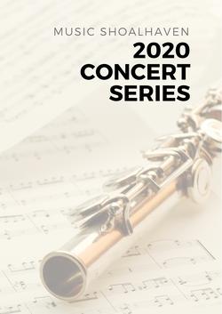 2020 Concert Program Cover