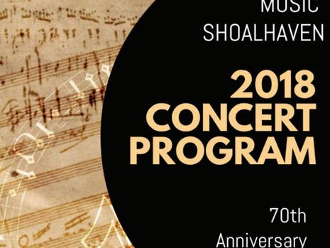 2018 Concert Program
