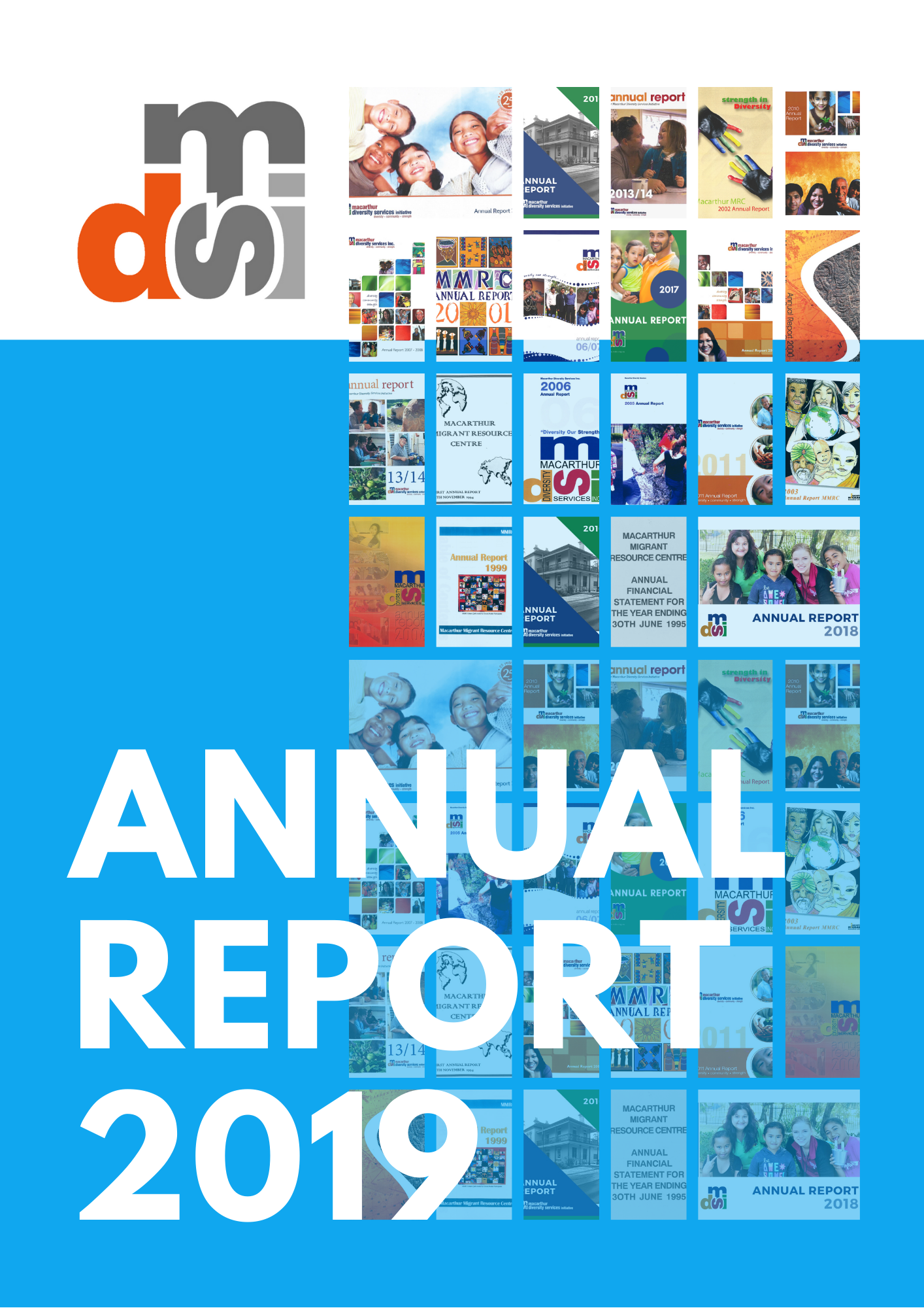 MDSI annual report 2019 cover
