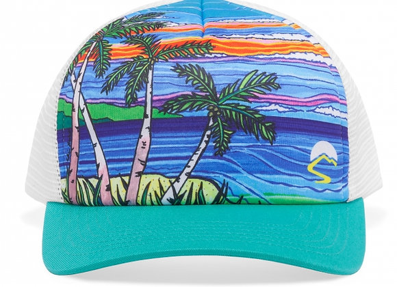 """Paradise"" Trucker Cap"