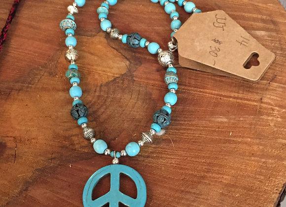 J Jypsy Peace Necklace