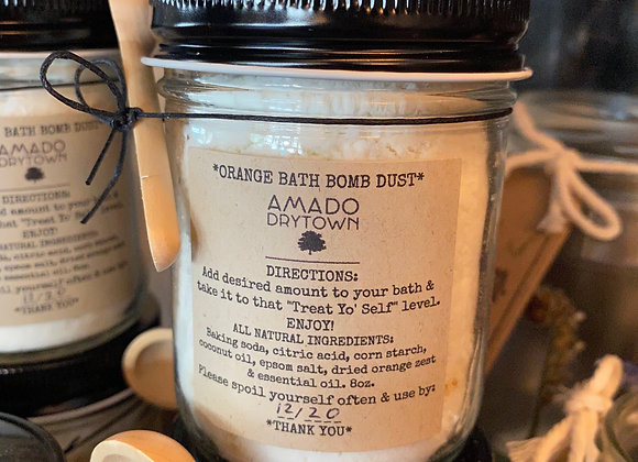 Bath Bomb Dust