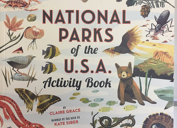 """""""National Parks"""" Activity Book"""