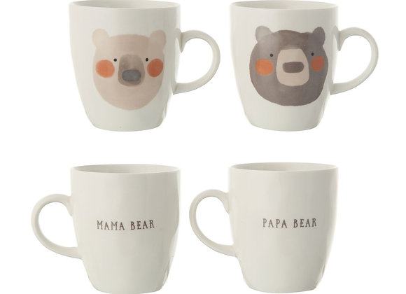 Mama Bear / Papa Bear Mug