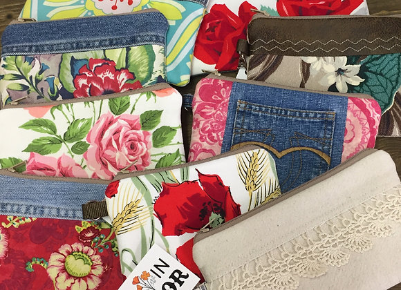 Vintage Fabric Ditty Bag
