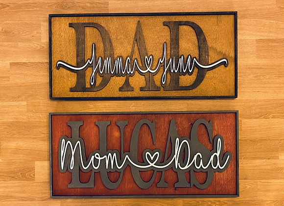 Custom Father's Day Sign