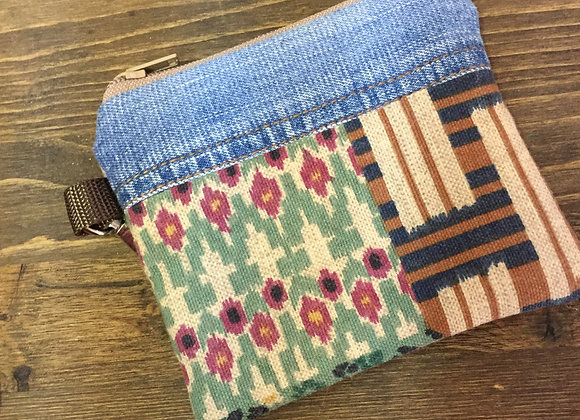 Vintage Fabric Coin Purse