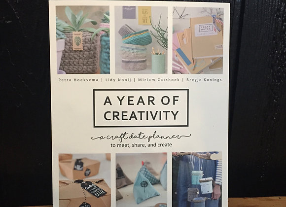 """A Year of Creativity"" book"