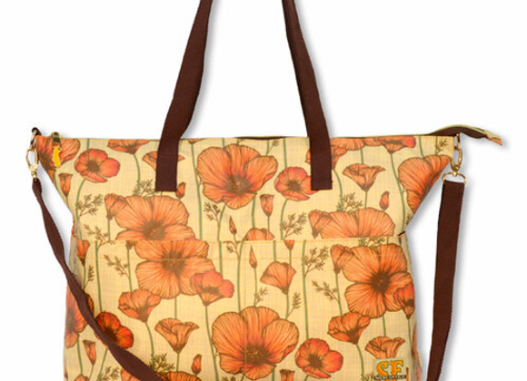 CA Poppy Reversible Bag