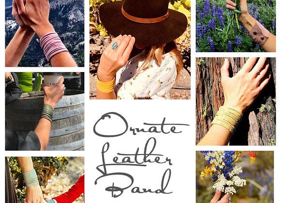 Handmade Leather Band Bracelet